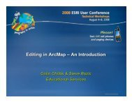 Editing in ArcMap – An Introduction