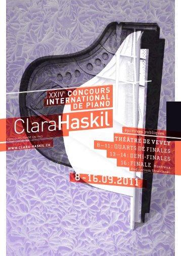 Concours Clara Haskil