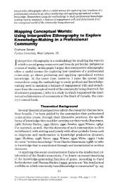 Mapping Conceptual Worlds: Using Interpretive Ethnography to ...
