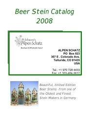2008 Beer Stein Catalog FINAL-A - Alpen Schatz