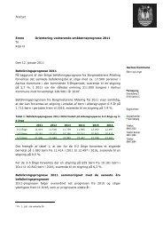 Aarhus Kommune Emne Orientering vedrørende ...