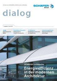 Magazin für Partner und Mitarbeiter - SCHÄFER Container Systems