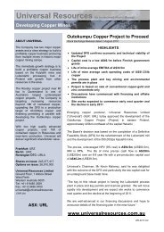 Decision to Proceed with Outokumpu.pdf - Altona Mining