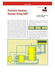 Pressure Sensing System Using 8051 - Electronicsmaker