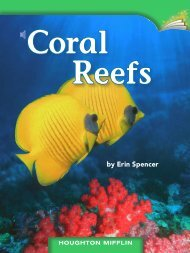 Lesson 11:Coral Reefs