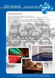 Flyer LED web.pdf - Systemhaus Pöppl in Regensburg
