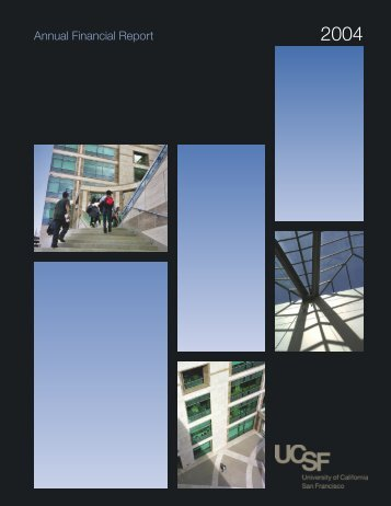 2003-2004 Annual Financial Report - Controller's Office - University ...