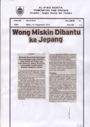 Wong Miskin Dibantu ke Jepang - Sragen