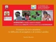 Sandra Morano - ASL n.3 Genovese