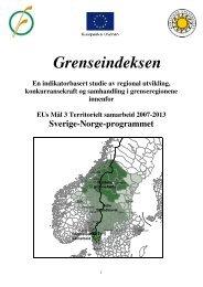Grenseindeksen - Interreg Sverige Norge