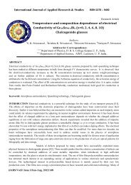 Temperature and composition dependence of electrical conductivity ...