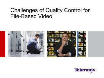 Challenges of Quality Control for File-Based Video