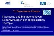 Nachsorge und Management von Therapienebenwir-kungen der ...