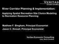 Matt Bingham and Jason Kinnell, Veritas Economics