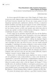 Sobre Augusto de Campos - Grupo de Estudos em Literatura ...