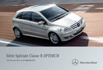 B OPTIMUM_Tarif - Mercedes-Benz France