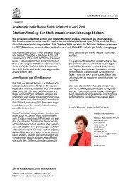 Region Unterland April 2010 - Amt für Wirtschaft und Arbeit