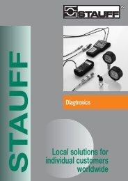 STAUFF Diagtronics, Ausgabe 01/2008