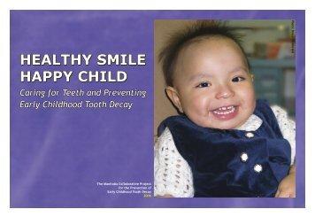 Healthy Smile, Happy Child - Winnipeg Regional Health Authority