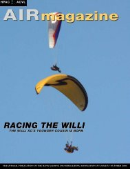 2006-10 - Hang Gliding and Paragliding Association of Canada