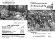 Der Gemeindebrief - Evangelische Jugend Paderborn