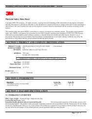 Material Safety Data Sheet SECTION 1 ... - R.S. Hughes, Inc.