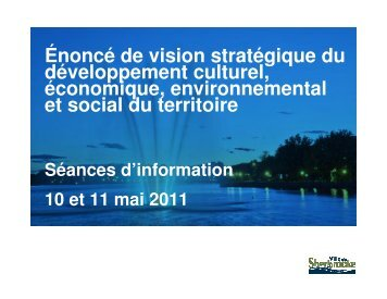 Introduction et énoncé 1 - Ville de Sherbrooke