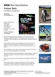 Future Tech - Black Dog Publishing