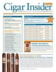 FINEST 25 CIGARS OF 2012 - Cigar Journal