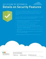 Details on Security Features