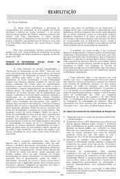REABILITAÇÃO - Instituto Lauro de Souza Lima