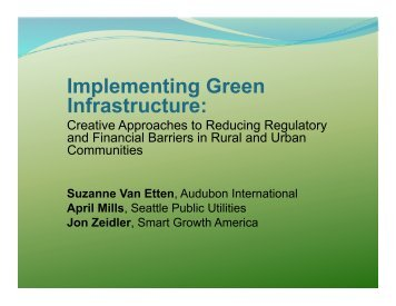 Zeidler - New Partners for Smart Growth Conference