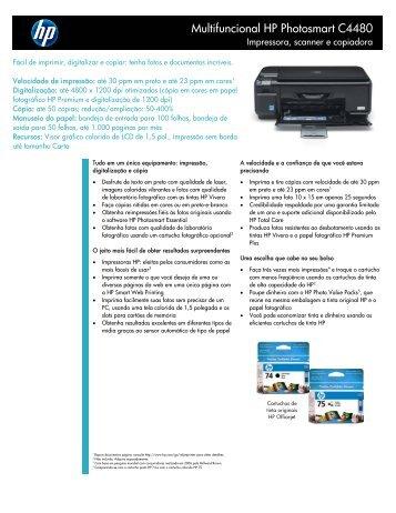 Multifuncional HP Photosmart C4480 - Khronos