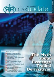 The Myth about Exchange Traded Deriviatives - Risk Reward Limited