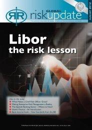 Libor – the Risk Lessons - Risk Reward