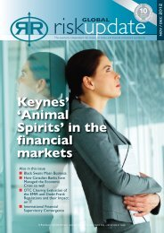 Keynes' 'Animal Spirits' in the financial markets - Risk Reward Limited