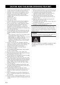 Receiver Ampli-Tuner - Yamaha Hifi - Page 2