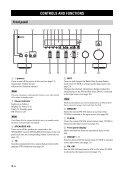 Receiver Ampli-Tuner - Yamaha Hifi - Page 6