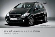 special edition - Sitesreseau.mercedes.fr - Mercedes-Benz France