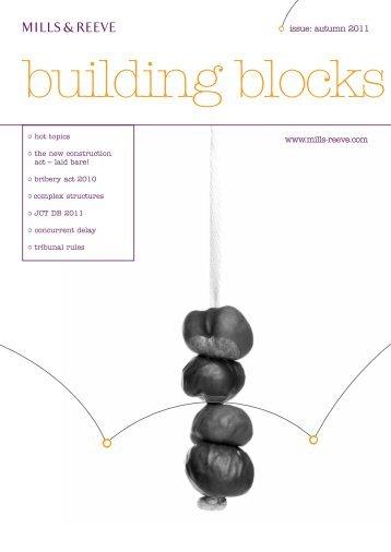 Building Blocks - Autumn 2011 - Mills & Reeve