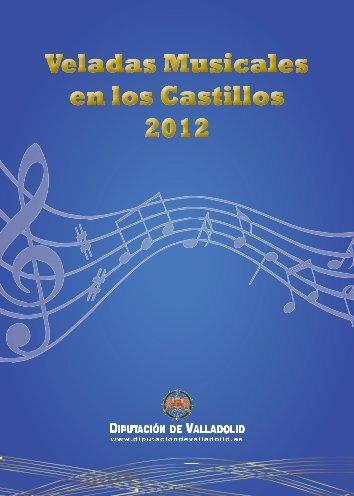 Folleto Veladas Musicales en los Castillos - Diputación de Valladolid