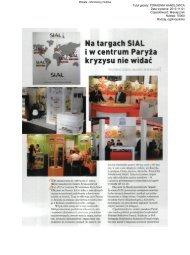 Poradnik Handlowca, 1 XI 2012, Na targach SIAL i w ... - Mokate