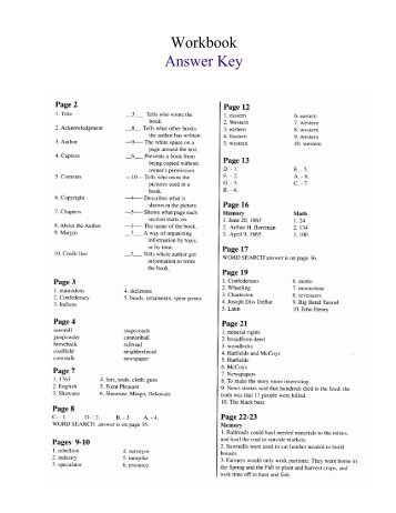 All in one workbook answer key cala6 fandeluxe Image collections