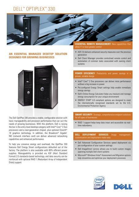 OPTIPLEX 330(SA)_270907 - Dell