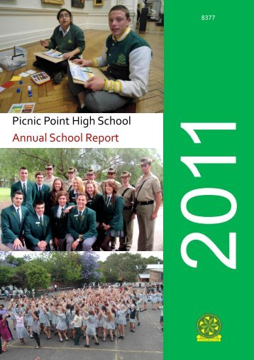 View 2011 Annual Report - Picnic Point High School