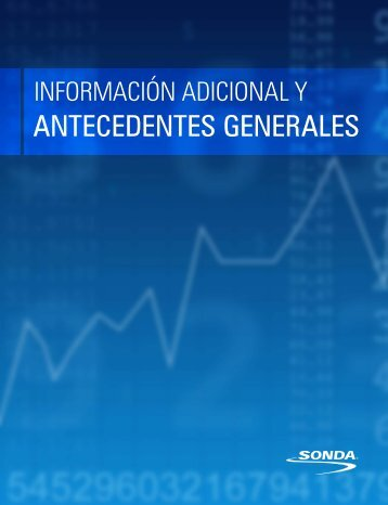 Informa - Sonda