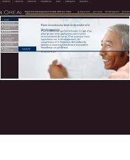 Télécharger la partie Talents (PDF) - Rapport de Développement ...