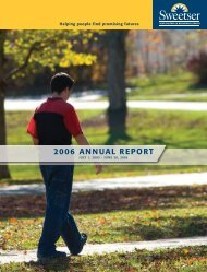 (• Annual Report 2006 v7:Sweetser Annual Report 200
