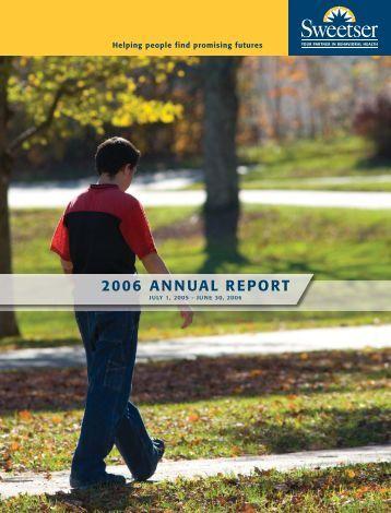 (• Annual Report 2006 v7:Sweetser Annual Report 200