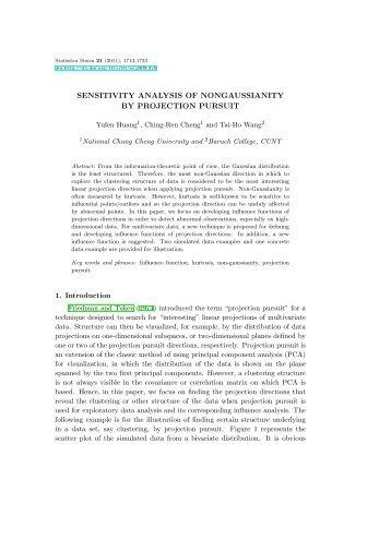 2. - Institute of Statistical Science, Academia Sinica